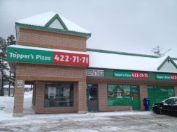 Topper's Pizza Wasaga Beach Store Front